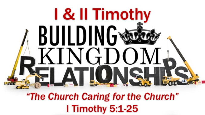 """Message 9: """"The Church Caring for the Church"""""""